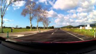 preview picture of video 'Driving through Mallorca, from Alcudia to Palma'
