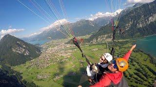 Paragliding with Skywings - Interlaken, Switzerland
