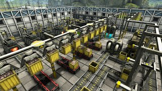 AUTOMATION EMPIRE   Ep. 2   Building Automated Factories Factorio Meets Satisfactory Gameplay
