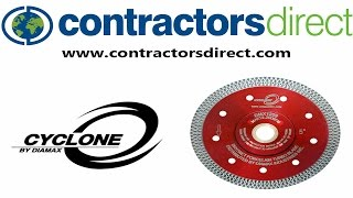 Diamax Cyclone Porcelain Blade From Contractors Direct