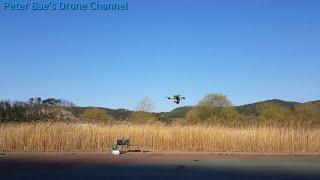 #10 Racing drone acro mode practice 레이싱 드론 아크로 모드 비행연습