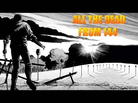 TWD Comic Deaths from Issue 144 - All who died!
