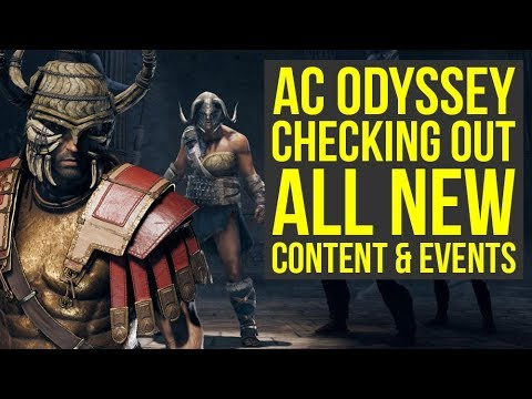 Assassin's Creed Odyssey DLC - Checking Out All The New Stuff (Weekly Reset March 19)