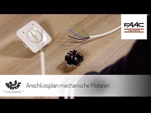altron- Anschlussplan mechanische Motoren