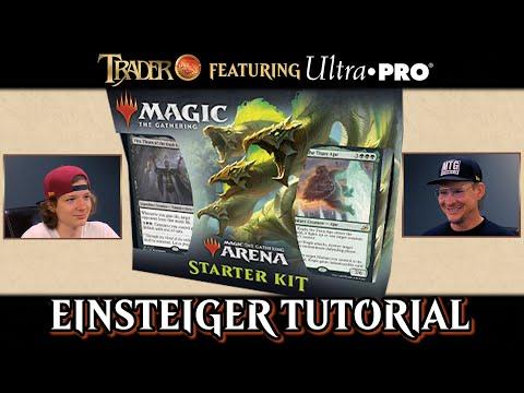 Magic the Gathering spielen lernen | Anfänger Tutorial Duell deutsch | Arena Einsteigerpaket Decks