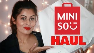 Miniso Haul Delhi Connaught Place | Japanese Cute Products | Kavya K