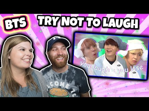 BTS - Try not to Laugh Challenge (Hard) Reaction