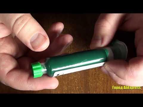 Механик 10 мл зеленка УФ паяльная маска фоточувствительные чернила