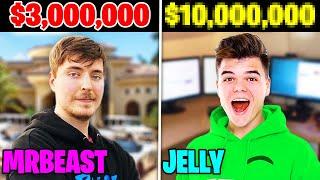 5 RICHEST YouTubers of 2020 (Jelly, MrBeast, Preston, Morgz)