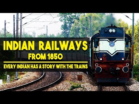 Indian Railways From 1850 | Complete history in 3 minutes or less | Short documentary