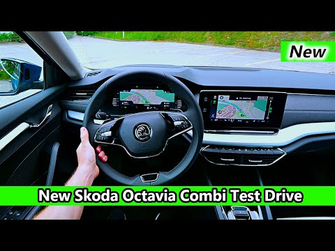 2020 Skoda Octavia 4 Combi Style Test Drive POV Review