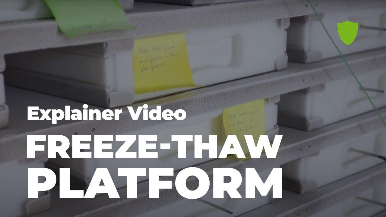 Freeze-thaw platform explainer video