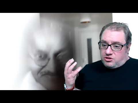 Gandhi appeared on the picture by Robbert van den Broeke