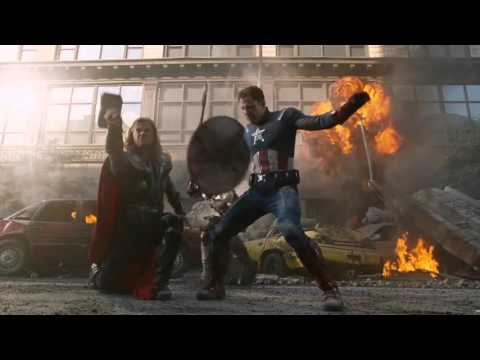 Captain America - Fight Moves Compilation