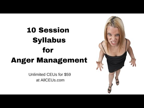 10 Session Protocol for Anger Management - YouTube