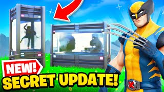 *NEW* SECRET UPDATE in Fortnite! (Map Changes, New Skins + MORE)