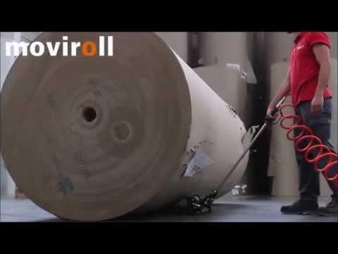 ¡Observe el Renova Moviroll neumático en acción!
