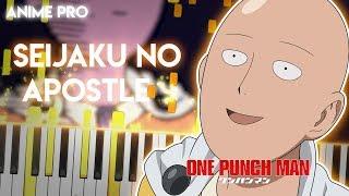 Seijaku no Apostle - One Punch Man Season 2 OP | JAM Project (piano)