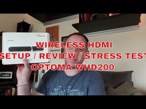 Optoma WHD200 Wireless HDMI Transmiter Reciever Review