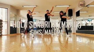 Hola Señorita (María)   GIMS, Maluma   Zumba   Flow Dance Fitness