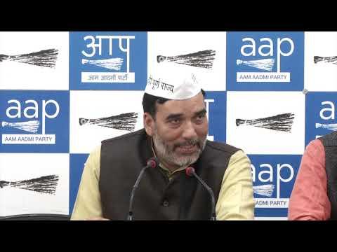 AAP Delhi Convenor Gopal Rai Briefs on Lok Sabha Campaign