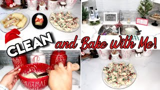 CHRISTMAS CLEAN AND BAKE WITH ME | CHRISTMAS BAKING IDEAS | 12 DAYS OF CHRISTMAS