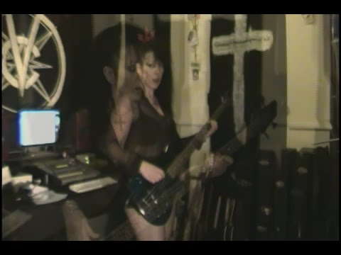 Death Party UK- A  Lady In Black