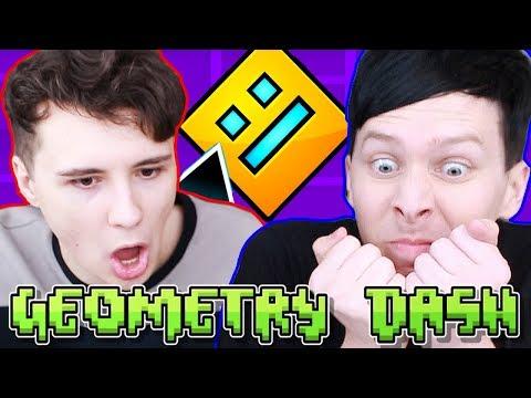 Dan vs. Phil: GEOMETRY DASH!