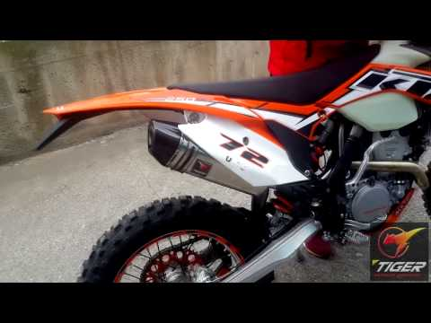 KTM 250 EXC-F Exhaust - Tiger Exhaust TRI-780