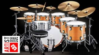 Deep Purple - Mitzie Dupree - Drum cover, Virtualdrumming