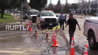 USA: 50,000 residents evacuated after San Jose hit by worst floods in a century