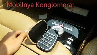Tombol2 Di Dalam Mercedes Benz S Class