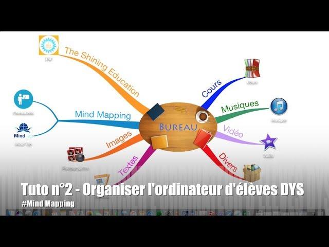 TUTO n°2 - Organiser l'ordinateur d'élèves DYS