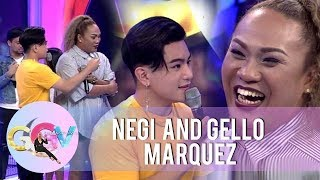 Gello Marquez serenades Negi with a song   #GGVOIdolSaSaya   GGV Preshow