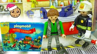 New Bike?  - Playmobil Holiday Christmas Advent Calendar - Toy Surprise Blind Bags  Day 14