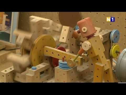 Vorschau: Matador Ki2 Holzspielzeug mit Hammer 108tlg