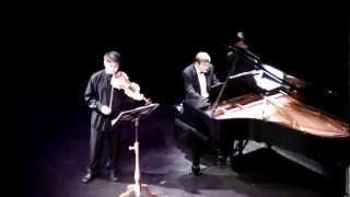 "Jonathan Lee Violin Recital - ""Poeme"" By E. Chausson"