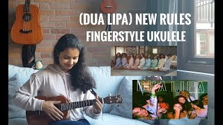 + TABS (Dua Lipa) New Rules  - Instrumental Fingerstyle Ukulele