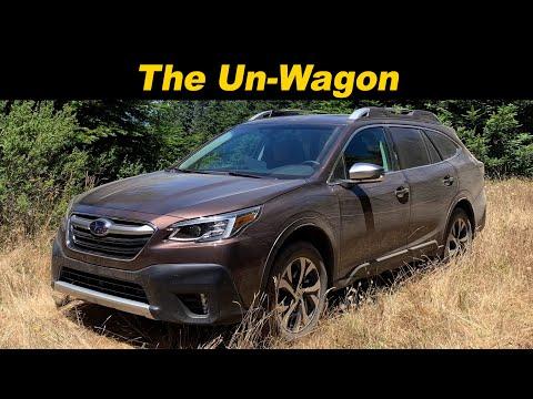 External Review Video kaj7KxQY5MU for Subaru Legacy Sedan & Outback Wagon (7th Gen)