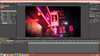 After Effects CS6 Tutorial - 7 - Timeline Panel