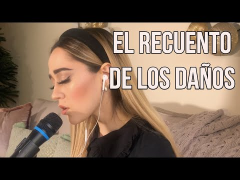 Genial interpretacion del single El recuento de los daños por Carolina Ross