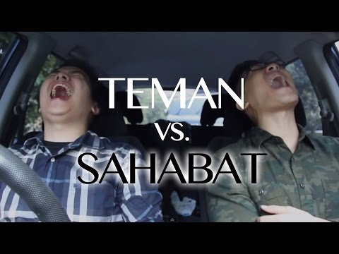 Video Teman vs. Sahabat