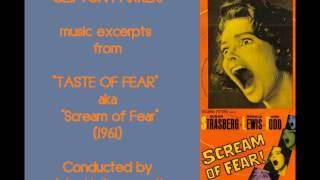 Clifton Parker: music from Taste of Fear [aka Scream of Fear] (1961)