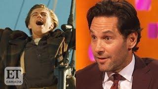 Paul Rudd Convinced Leonardo DiCaprio To Do 'Titanic'