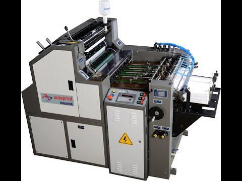 AUTOPRINT KNIGHT NX - NON WOVEN BAG OFFSET PRINTING MACHINE