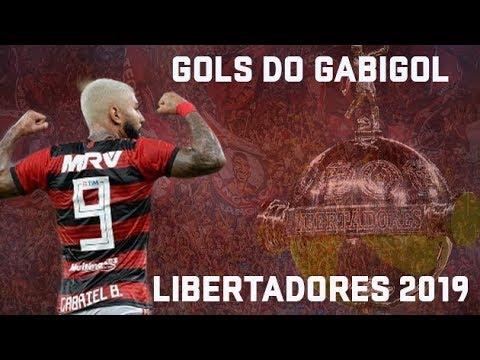 QUARTA VAI TER GOL DO GABIGOL? Todos os gols artilheiro do Flamengo na Libertadores 2019