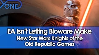 EA Isn't Letting Bioware Make New Star Wars Knights of the Old Republic Games