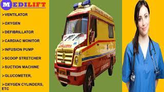 Medilift ICU Ambulance Service in Kidwaipuri and Anishabad
