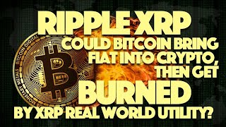 Ripple XRP: Could Bitcoin Bring Fiat Into Crypto, Then Get BURNED By XRP Real World Utility?