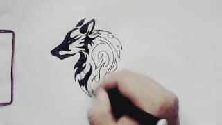 Descargar Mp3 De How To Draw A Wolf Tattoo Gratis Buentema Org